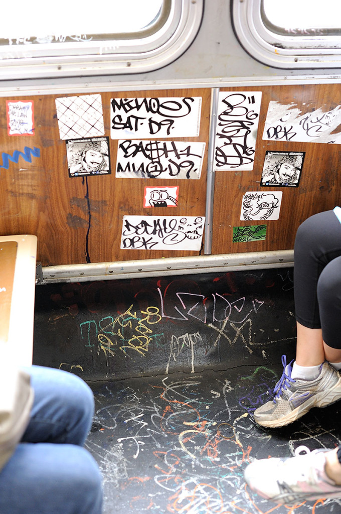 Graffiti on Mission 14
