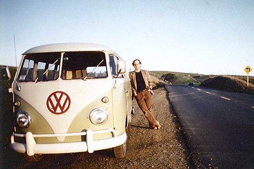 Tim with 1959 bus
