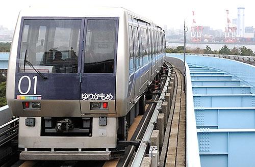 Tokyo Waterfront New Transit Corporation's Yurikamome train