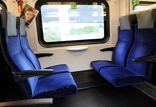S-Bahn train interior