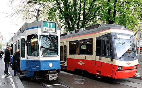 Near Stadelhofen station in Zurich
