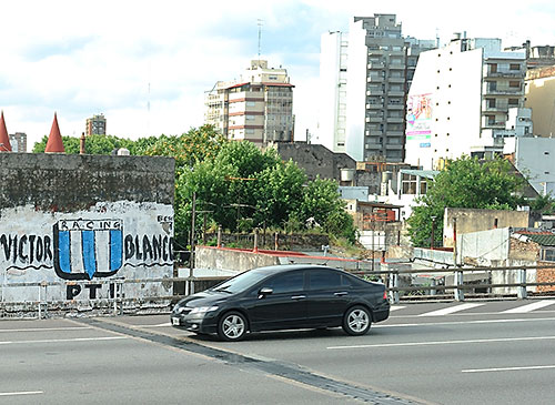 Freeway in Buenos Aires