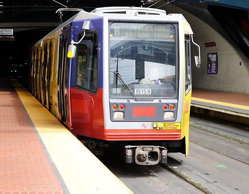 K line at West Portal station