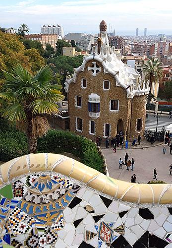 Parc Güell in Barcelona