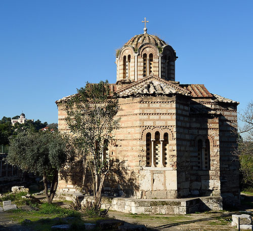 Church of the Holy Apostles in Ancient Agora