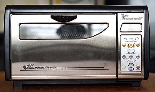 Tim's Behmor 1600+ coffee roaster
