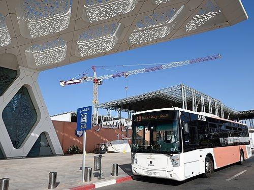 ALSA 19 bus at Marrakech airport