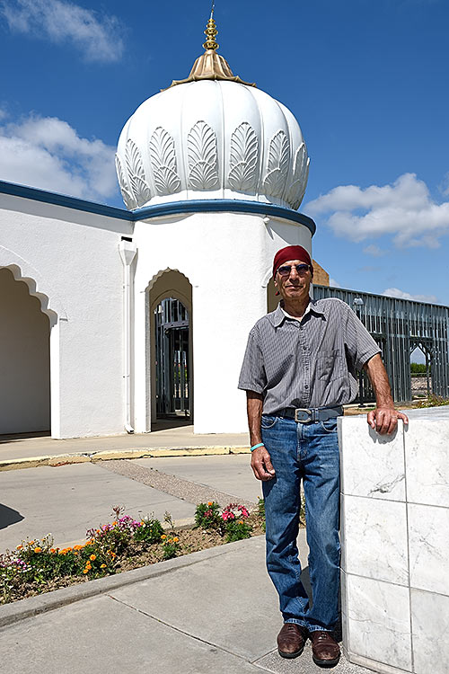 Tehal at Gurdwara Sahib temple in Modesto, California