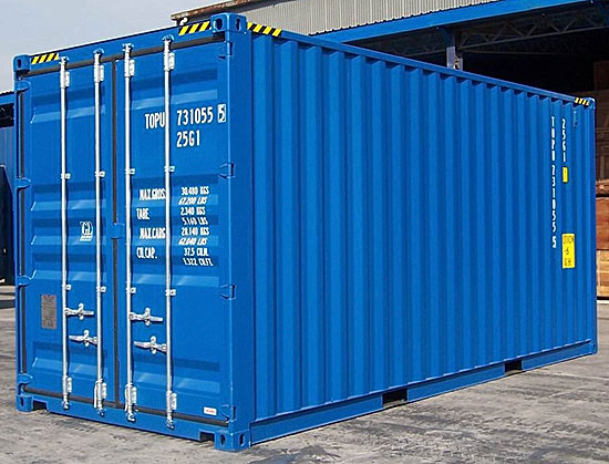 Shipping container (CC BY-NC-ND 2.0 photo by Brunurb)
