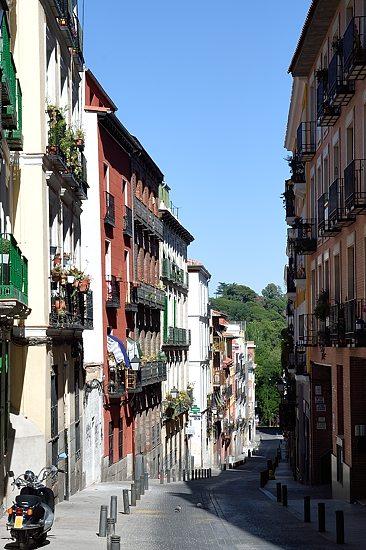 On Calle Gobernador in the Centro district