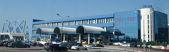 Henri Coandă airport in Bucharest, Romania