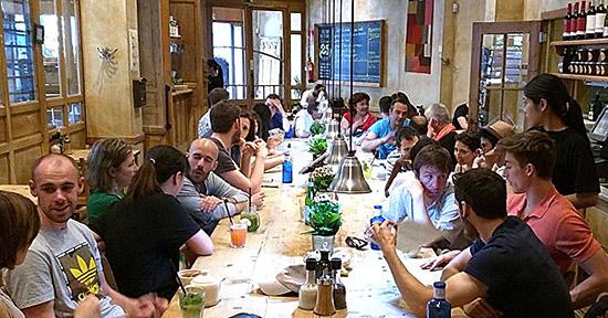 Language Exchange in Madrid, Spain