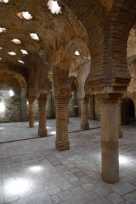 Baños árabes of Ronda, Spain