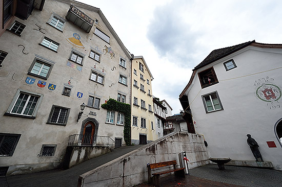 Buildings in Chur, Switzerland | Copr. © 2019 by Tim Adams, Creative Commons CC BY 2.0