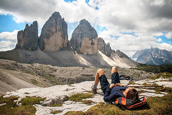 Dolomites mountain range | CC-BY-NC-ND-2.0-by-Luca-Moglia