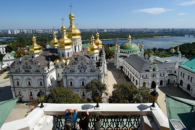 Kyiv Pechersk Lavra | © 2019 Tim Adams, CC BY 2.0