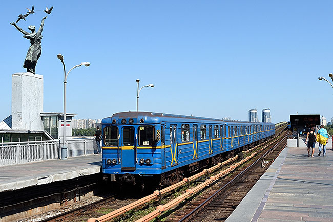 Kyiv metro at Dnipro station | © 2019 Tim Adams, CC BY 2.0