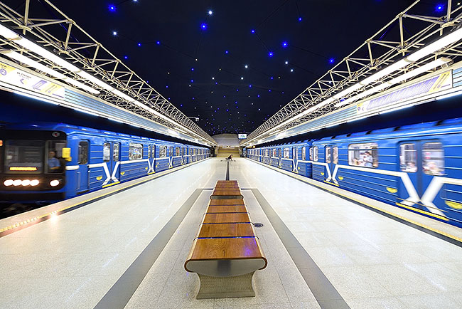 Piatroushchyna station, Minsk | © 2019 Tim Adams, CC BY 2.0