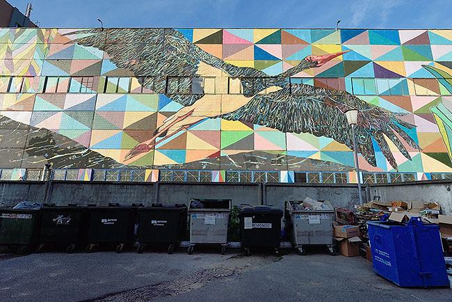 Street art, Minsk | © 2019 Tim Adams, CC BY NC 4.0