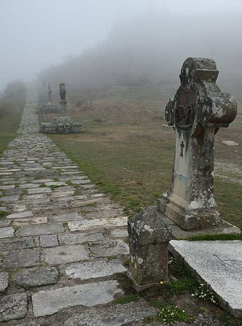 Crosses on Mount Santa Trega | © 2019 Tim Adams, CC BY 2.0