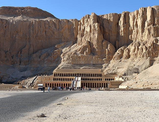 Hatshepsut Temple | Copr. 2019 by Tim Adams CC by 2.0