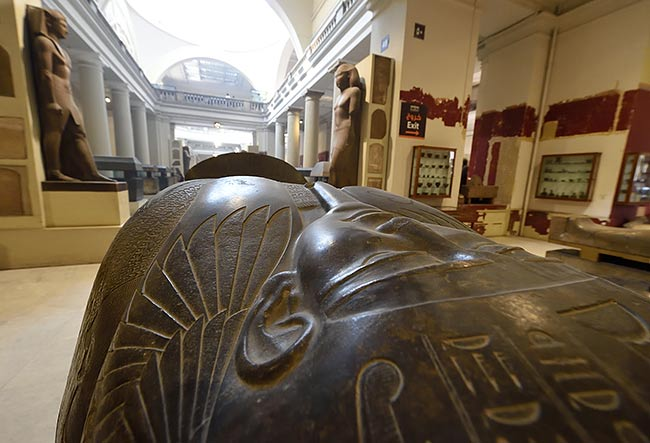 Egyptian Museum   Copr. 2019 by Tim Adams CC by 2.0