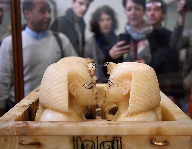 Tutankhamen Canopic Box   Copr. 2019 by Tim Adams All Rights Reserved