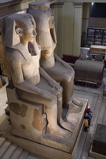 Amenhotep III statue   Copr. 2019 by Tim Adams CC by 2.0