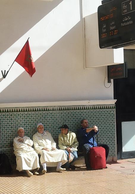 Morocco train station