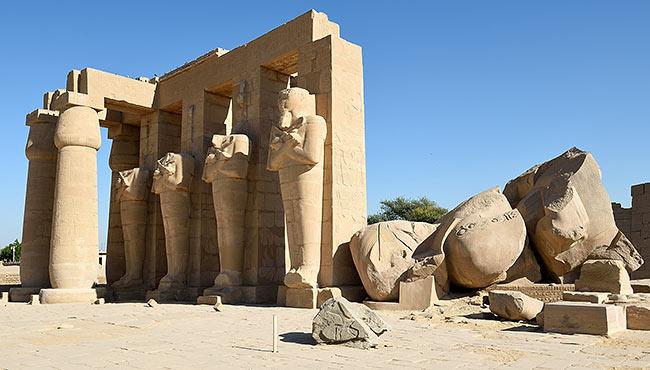 Ramesseum | Copr. 2019 by Tim Adams CC by 2.0
