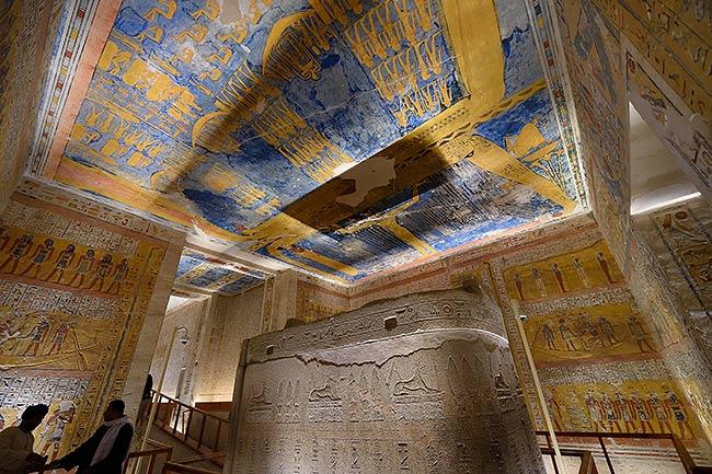 Ramses IV tomb | Copr. 2019 by Tim Adams CC by 2.0