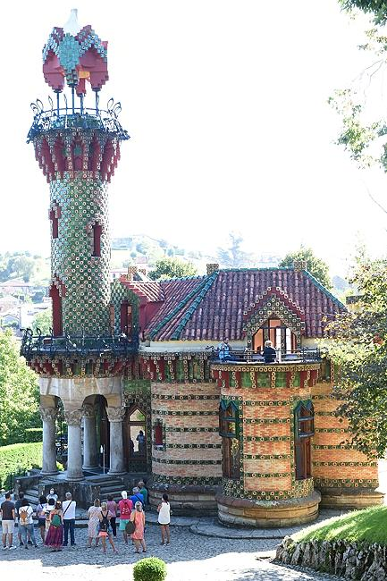El Capricho de Gaudi in Comillas | © 2020 Tim Adams