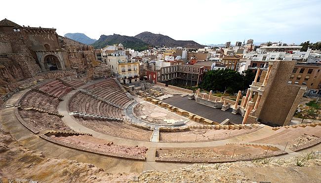 Teatro Romano in Cartagena, Spain | © 2020 Tim Adams, CC BY 2.0