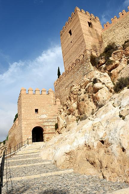 Alcazaba entrance in Almería, Spain | © 2020 Tim Adams, CC BY 2.0