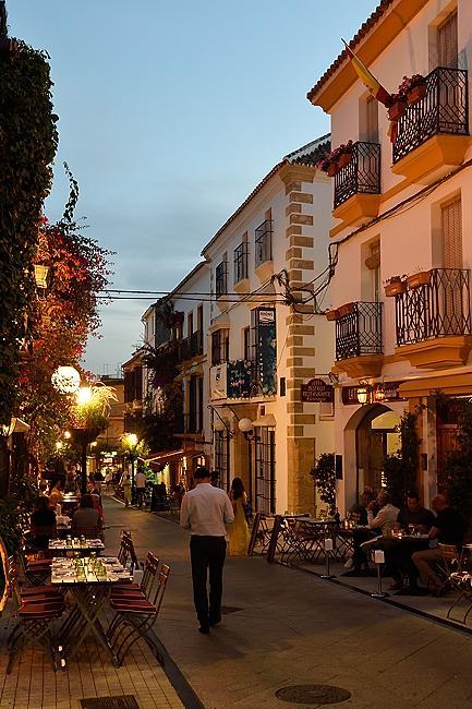 Calle Ancha in Marbella, Spain | © 2020 Tim Adams, CC BY 2.0