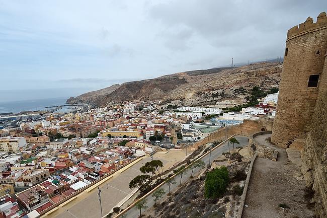 View from Alcazaba of Almería, Spain | © 2020 Tim Adams, CC BY 2.0