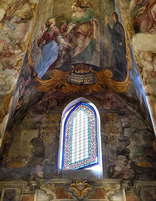 Window and ceiling detail of Church of San Nicolás de Bari in Valencia, Spain | © 2020 Tim Adams, CC BY 2.0