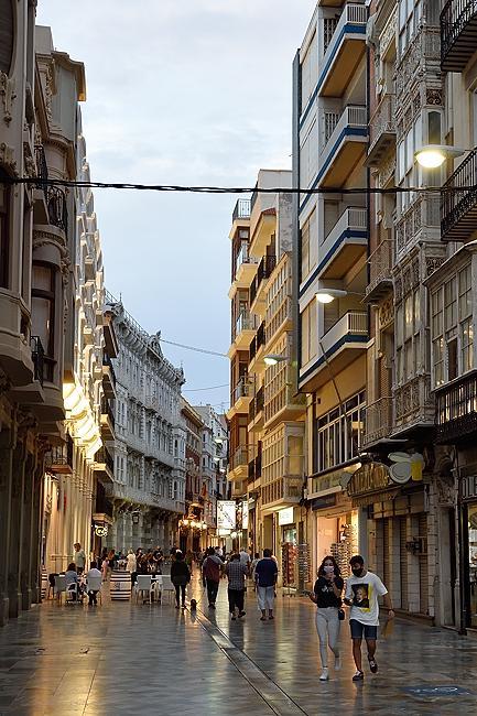 Calle Mayor in Cartagena, Spain | © 2020 Tim Adams, CC BY 2.0