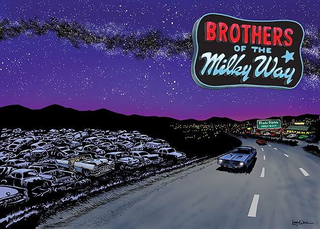 Brothers of the Milky Way gets a new cover